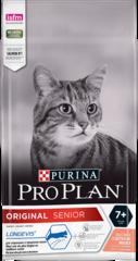 Purina Pro Plan Original senior 7+ для взрослых кошек и котов старше семи лет с лососем