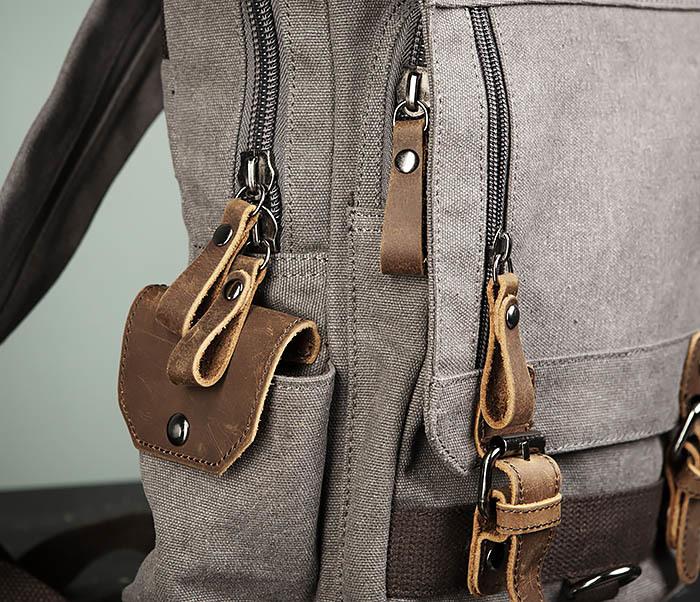 BAG476-3 Удобный мужской рюкзак с USB зарядкой фото 03