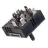 Переключатель мощности стеклокерамической конфорки EGO двухзонный EGO 50.55021.100