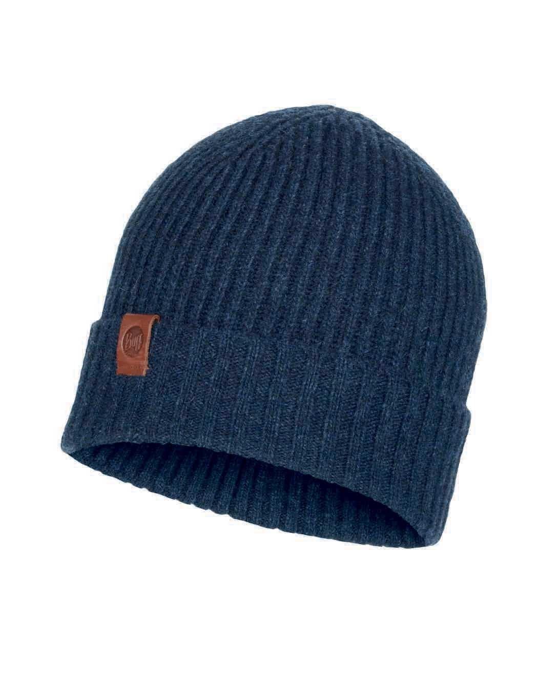 Вязаная шапка Buff Hat Knitted Biorn Dark Denim