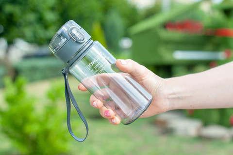 Бутылка для воды Powcan 400 мл - Gray глянцевая