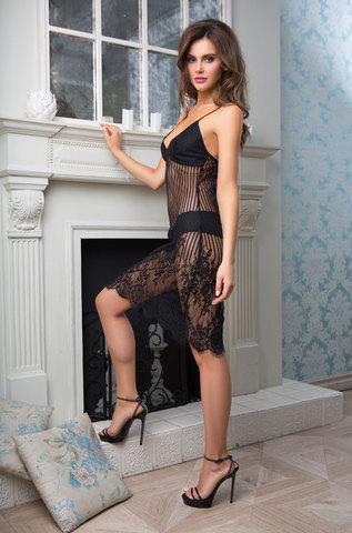 Сорочка женская  MIA-MIA Lolita Лолита 17464 черный