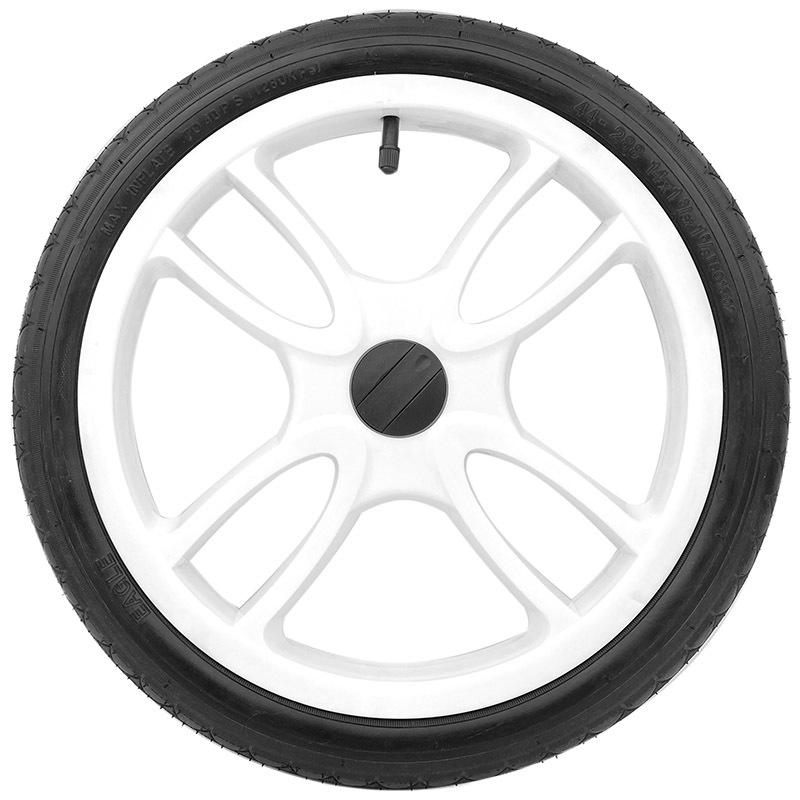 Колеса для детских колясок Колесо для детской коляски 14 1 3/8 x 1 5/8 (44-288) пластиковое белое кол14.jpg