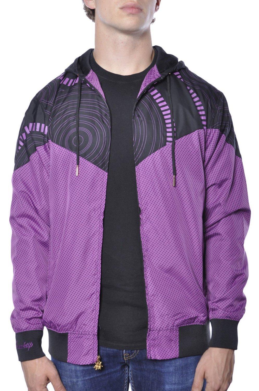 Ветровка фиолетовая 1