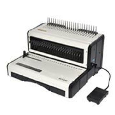 Переплетчик электрический на пластиковую пружину Office Kit B2125E: перфорация 25 листов, объем блока 500 листов