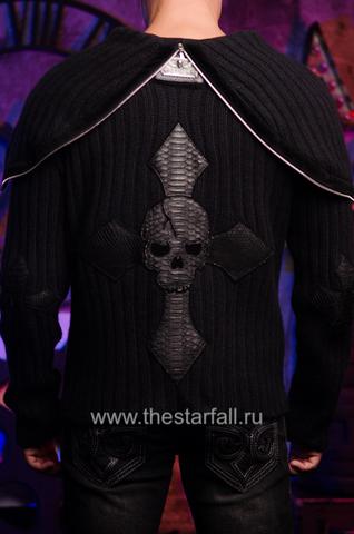 Мужской кардиган с капюшоном от 7.17 Studio Luxury