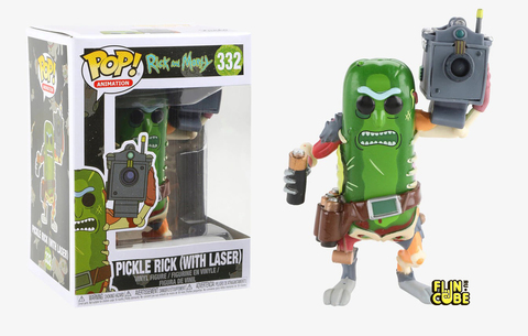 Funko Rick and Morty: Pickle Rick with Laser (No.332)