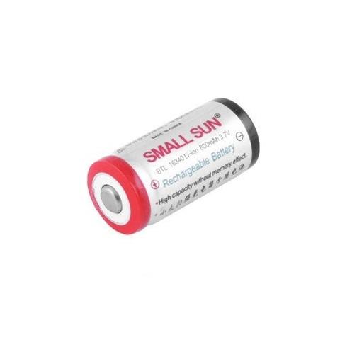 Аккумуляторы 16340 Small Sun 800mAh (Li-ion)