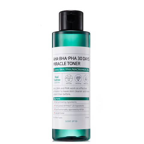 Some By Mi AHA-BHA-PHA 30 Days Miracle Toner - Кислотный очищающий тонер для проблемной кожи 150мл