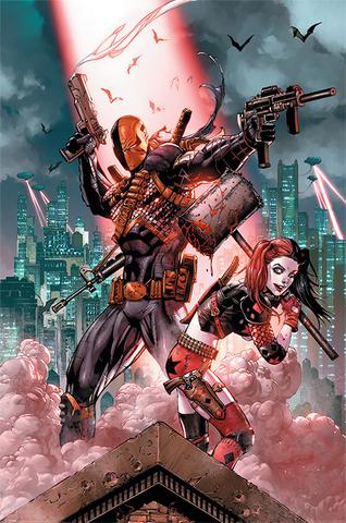Постер DC: Deathstroke & Harley Quinn)