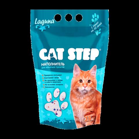 Cat Step Лагуна Наполнитель для туалета кошек силикагелевый