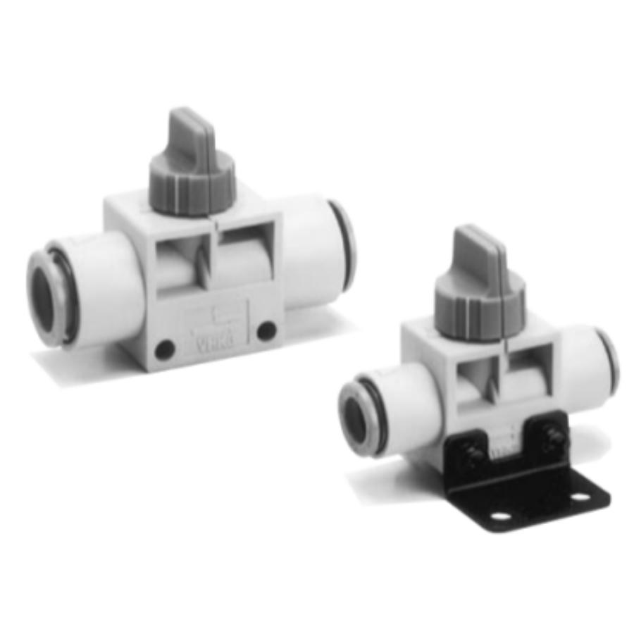 VHK2-10F-10F  2/2-Ручной пневмораспределитель