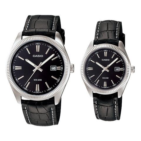 Купить Парные часы Casio Standard: MTP-1302L-1AVDF и LTP-1302L-1AVDF по доступной цене