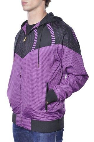 Ветровка фиолетовая фото 2