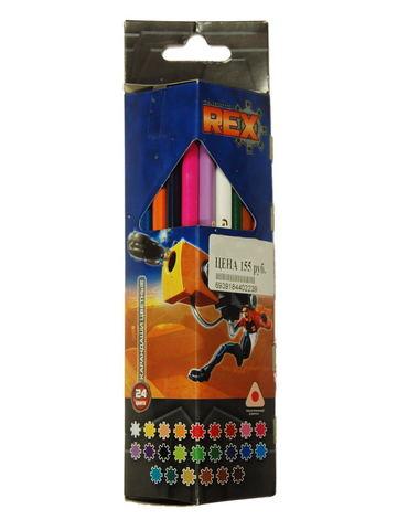 Карандаши цветные 24 цвета Generation Rex