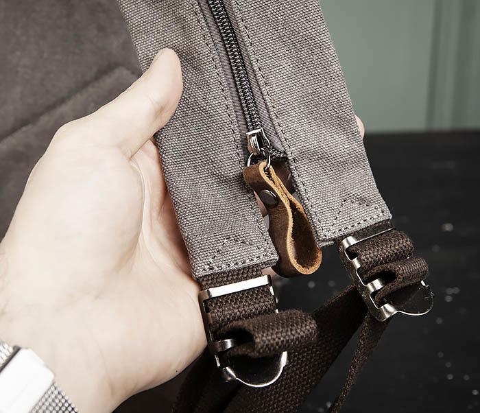 BAG476-3 Удобный мужской рюкзак с USB зарядкой фото 07