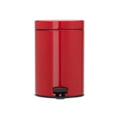 Ведро для мусора Brabantia красное 3л