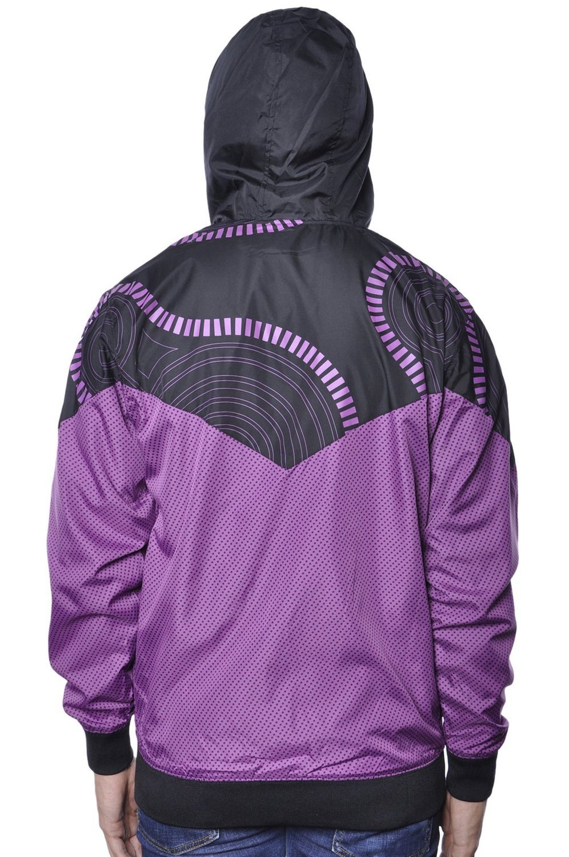 Ветровка фиолетовая 3