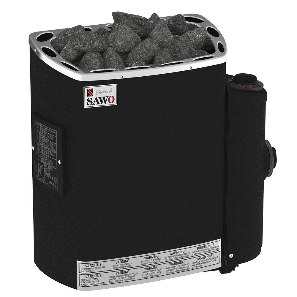 Серии Mini и Mini X: Электрическая печь SAWO MINI MN-36NB-P-F (3,6 кВт, встроенный пульт, термопокрытие) asus asus zenfone zoom zx551ml черный 4 гб 128гб 1 sim 4g lte