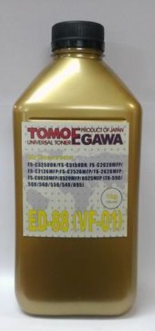Тонер TOMOEGAWA ED-88 для Kyocera универсальный, желтый (1 кг)