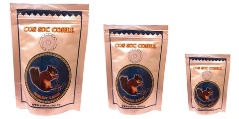 Вьетнамский молотый кофе Con Soc Белочка, арабика и робуста, 100-500 гр.