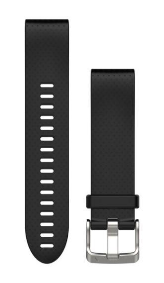 Силиконовый ремешок Garmin QuickFit 20 мм черный