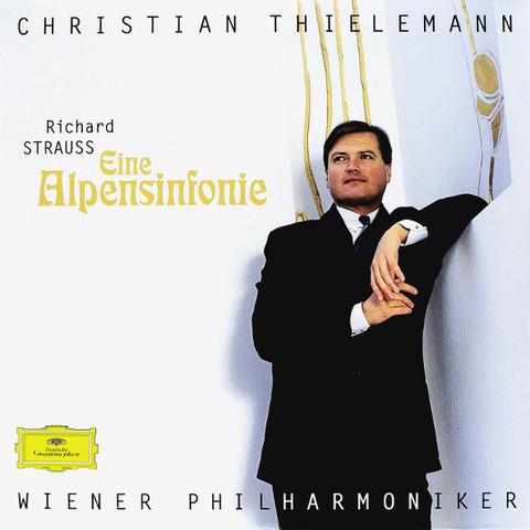 Christian Thielemann, Wiener Philharmoniker / Strauss: Eine Alpensinfonie (LP)