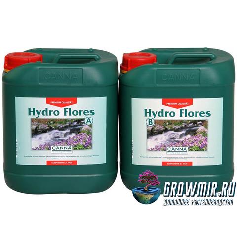 CANNA HYDRO FLORES A+B 5л (HW)