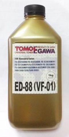 Тонер TOMOEGAWA ED-88 для Kyocera универсальный, черный (1 кг)