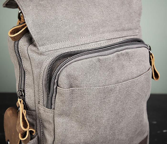 BAG476-3 Удобный мужской рюкзак с USB зарядкой фото 09