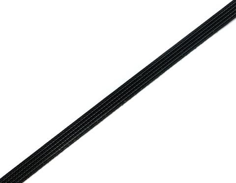 Ригелин жесткий 10 мм, черный
