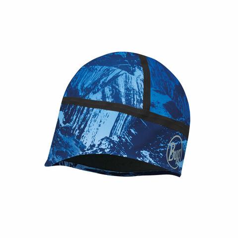 Тонкая непродуваемая шапка Buff Mountain Bits Blue
