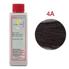 CHI Ionic Shine Shades Liquid Color 4A (Темный пепельно-коричневый) - Жидкая краска для волос