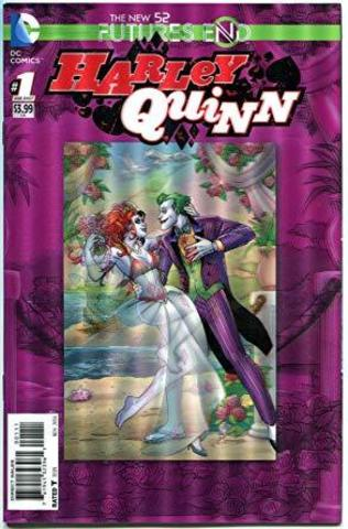 Futures End Harley Quinn Lenticular Cover