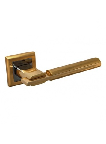 Фурнитура Palidore ручка дверная 294, цвет золото матовое/золото