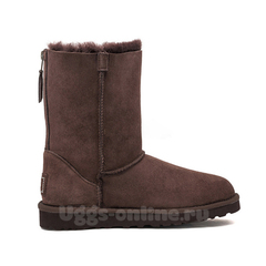 UGG Zip Chocolate