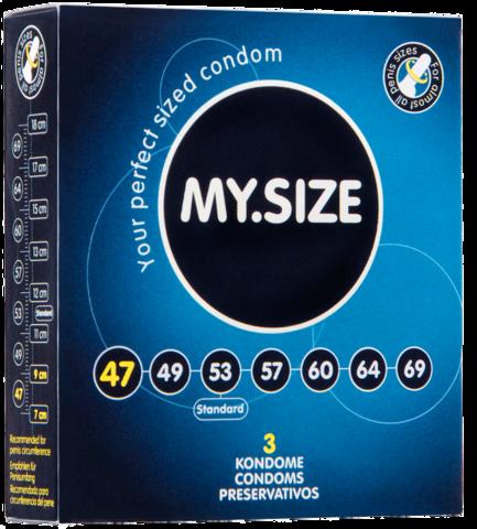 Презервативы MY.SIZE №3 размер 47