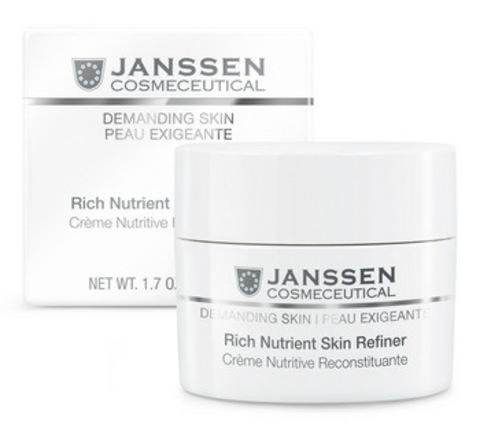 Обогащенный дневной питательный крем (SPF 15)Janssen Rich Nutrient Skin Refiner, 150 мл.