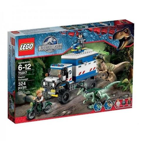 LEGO Jurassic World: Ярость раптора 75917 — Raptor Rampage — Лего Мир юрского периода
