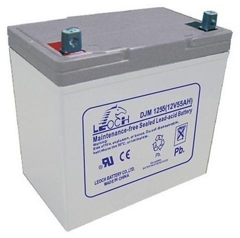 Аккумуляторы Leoch DJM1255 - фото 1
