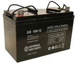 Аккумулятор General Security GS 100-12 ( GS12-100 ) ( 12V 100Ah / 12В 100Ач ) - фотография