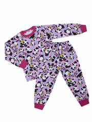 BK921PJ-5 пижама для девочек, розовая