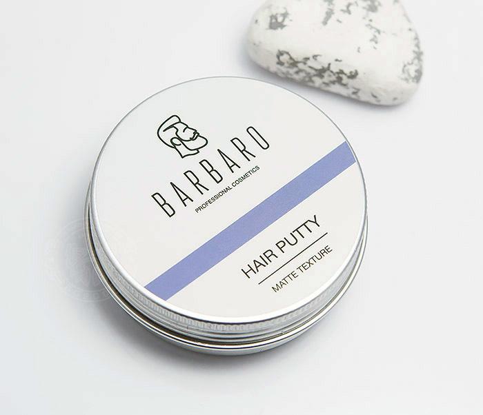 RAZ1051 Матовая мастика паста «Barbaro» для укладки волос (60 гр) фото 03
