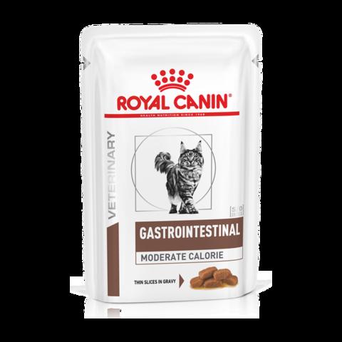 Royal Canin Gastro Intestinal Moderate Calorie GI Консервы для кошек при нарушении пищеварения с умеренным содержанием энергии