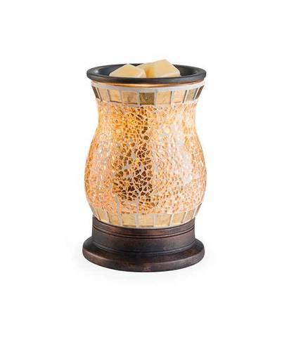 Аромасветильник настольный Позолоченное стекло, Candle Warmers