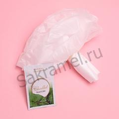 Одноразовая мочалка + гель (Спанбонд, белый, 1 шт/упк, упаковка)