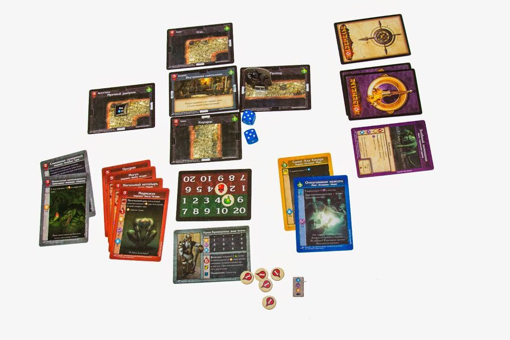Настольная Игра Подземелье: Гробница повелителя мёртвых