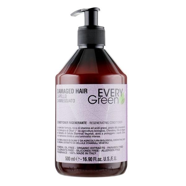 Кондиционер для поврежденных волос Dikson Every Green Damaged Hair Condizionante Rigenerante 500мл