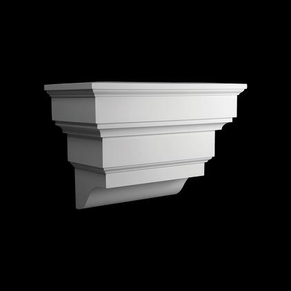 Кронштейн-пьедестал Европласт из полиуретана 4.83.101, интернет магазин Волео