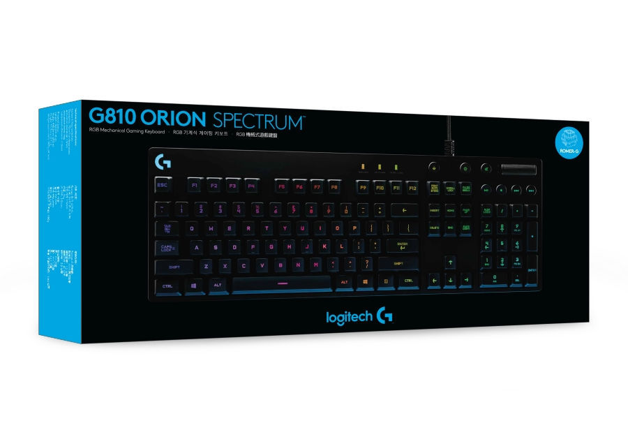 LOGITECH G810 Orion Spectrum